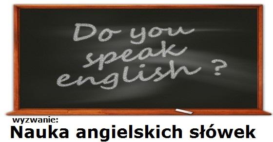 Nauka angielskich słówek wyzwanie